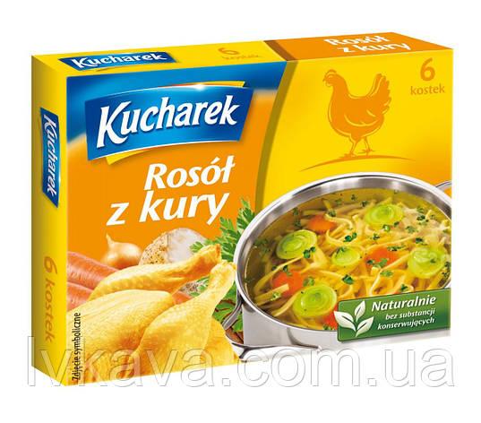 Бульонные кубики куриные Kucharek , 60 гр, фото 2