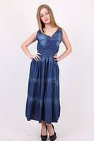Сарафан женский № 2651 джинсовые сарафаны оптом