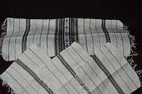 Набор из тканых рушныка и 6 салфеток (ручная работа),  (195/135)