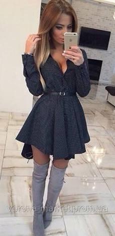 Женские платья с вырезом декольте