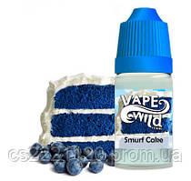 "Vape Wild ""Smurf Cake"" (No Nicotine)30ml"