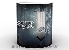 Кружка Игра Престолов winter is coming