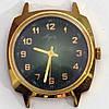 Луч позолоченные часы