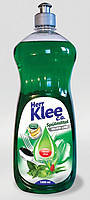 Гель для мытья посуды Klee 1л  мята алое