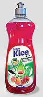 Гель для мытья посуды Klee гранат апельсин 1л