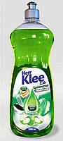 Гель для мытья посуды Klee зеленое яблоко 1л