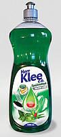 Гель для мытья посуды Klee 1л  алое-мята