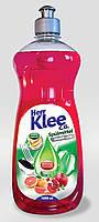 Гель для мытья посуды Klee 1л  гранат-апельсин