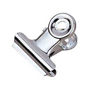 Прищепка металлическая для зажима ногтей