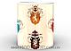 Кружка Игра Престолов гербы на светлом фоне , фото 2
