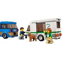 Конструктор LEGO City Great Vehicles Фургон и дом на колёсах (60117)