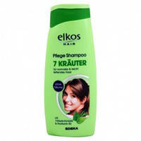 Женский шампунь Elkos 7 Травы & Витамины 500 мл. Германия