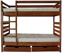 Ліжко ТИС двохярусне Трансформер 1 (Сосна, Бук, Дуб)