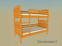 Ліжко ТИС Трансформер 5 (Сосна, Бук, Дуб)