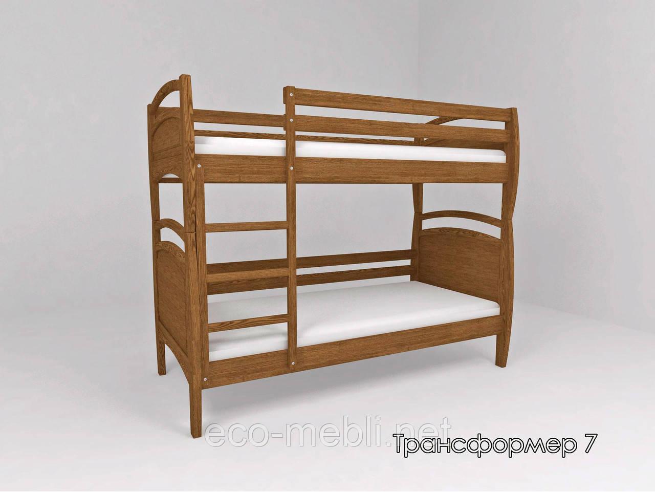 Ліжко ТИС Трансформер 7 (Сосна, Бук, Дуб)