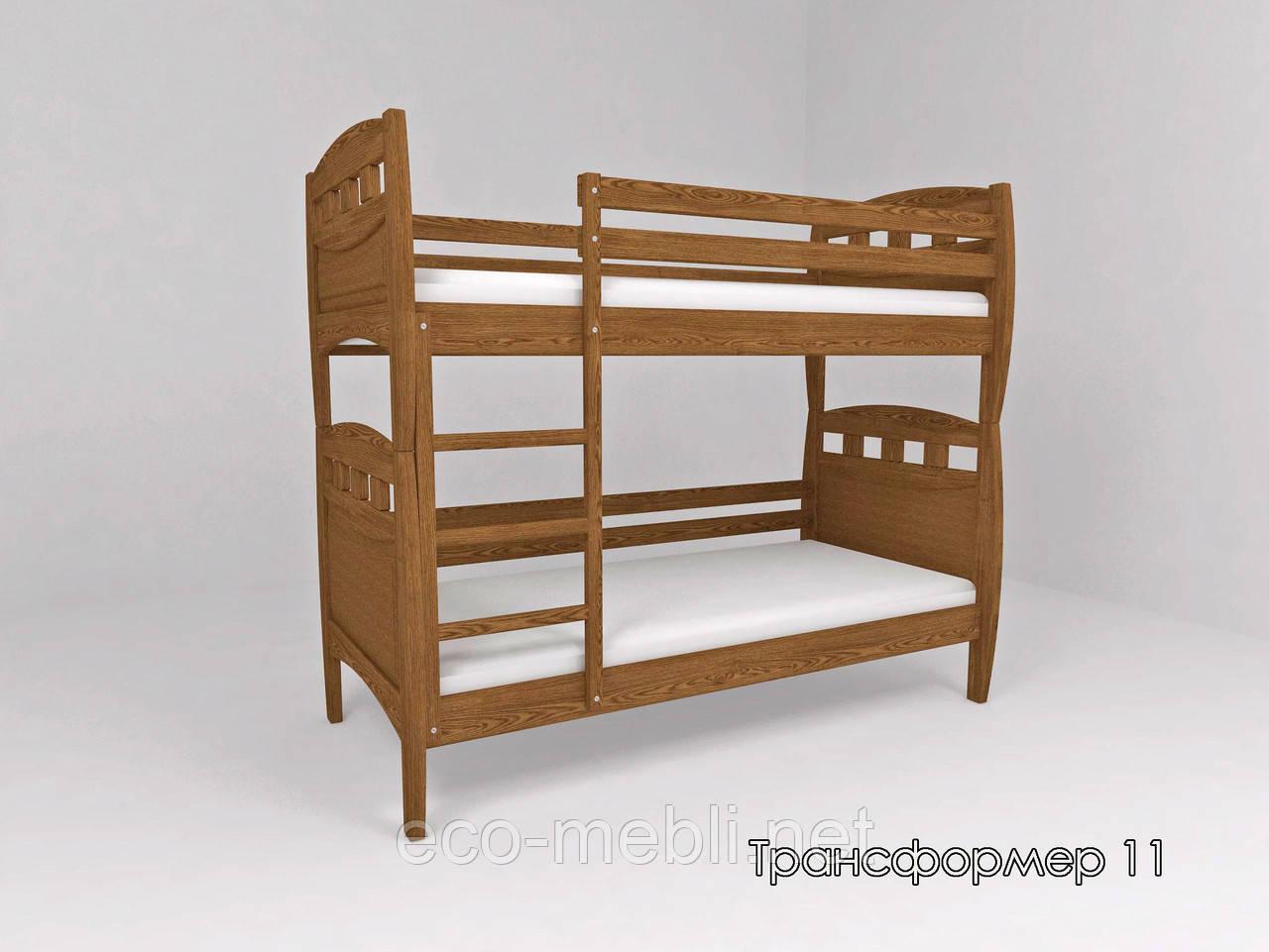 Ліжко ТИС Трансформер 11 (Сосна, Бук, Дуб)