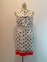Платье в стиле  Moschino летнее в горохи, фото 1