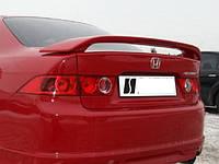 Спойлер Honda Accord 7 со стоп сигналом, Хонда Аккорд, фото 1