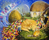 «Ходит сон возле окон» картина маслом