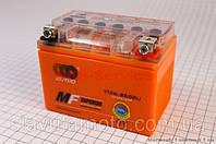 Аккумулятор 4Аh YTX4L-BS (гелевый, оранж) 113/70/85мм  (OUTDO) 2020