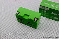 Аккумулятор 7Аh МОТО YT7B-4 (гелевый) 155/70/112мм (MSU)
