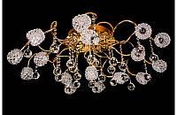 Люстра галогенная со светодиодной подсветкой , пультом 8416-16