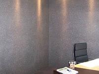 Покрытие стен цветной стеклянной крошкой