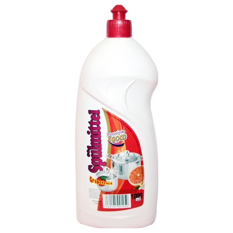 Средство для мытья посуды Passion Gold Spulmittel 1л грейфрут