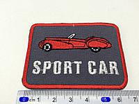 Нашивка sport car  планка