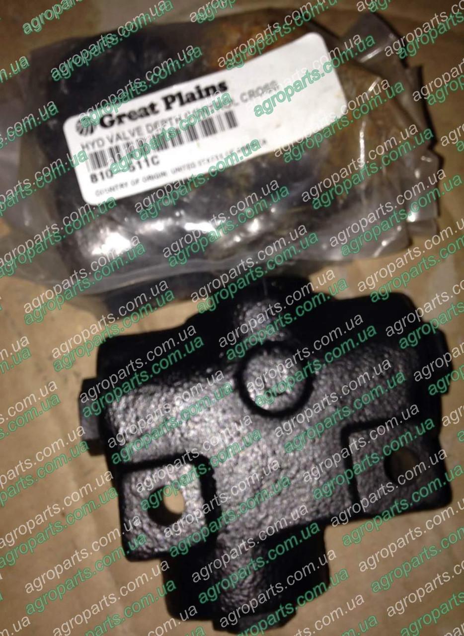 Клапан 810-511С контроля глубины FC0218 Great Plains 810-511с HYD VALVE DEPTH CONTROL CROSS