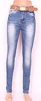 Женские  джинсы на высокой талии (американка)