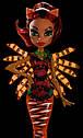 Лялька Monster High Торалей Страйп (Toralei Stripe) Великий Скарьерный Риф Монстер Хай Школа монстрів, фото 7