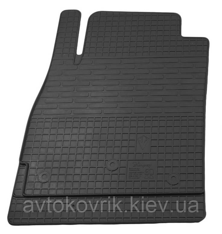 Резиновый водительский коврик в салон Chevrolet Cruze 2008-2015 (STINGRAY)