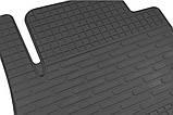 Резиновый водительский коврик в салон Chevrolet Cruze 2008-2015 (STINGRAY), фото 2