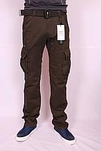 """Чоловічі джинси-карго захисного кольору """"Iteno"""".30-38размеры .( є інші кольори )"""