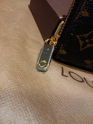 Кошелек Louis Vuitton Люкс, классика, на молнии, с коробкой, фото 3