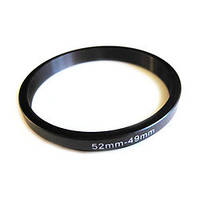 Понижающее степ кольцо 52-49мм для Canon, Nikon
