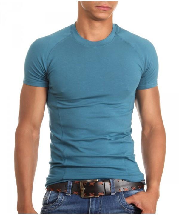Мужская футболка Doreanse 2535 петроль/изумруд