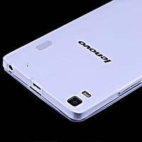 Чехол силиконовый Ультратонкий Baseus для Lenovo A7000 / K3 Note Прозрачный