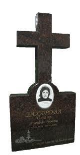 Гранітні хрести від виробника (Зразки №514)