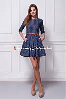 Платье джинсовое 201-17