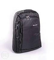 Чёрный городской рюкзак для ноутбука Wallaby