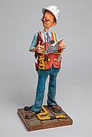 Статуэтка скульптора Guillermo Forchino - Прораб THE SUPERVISOR 42 см.