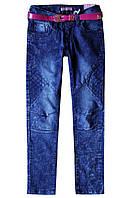 Джинсы со строчками для девочки подростка; 164 размер, фото 1