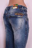 Женские джинсы бойфренды рваные (стрейч - котон) 25-30 размеры , фото 4