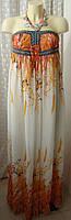 Платье женское легкое летнее сарафан макси бренд Adeline р.44 6025, фото 1