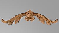 Код ДГ 35.Деревянный резной декор для мебели. Декор горизонтальный, фото 1