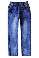 Стильные голубые джинсы для мальчика; 98, 104, 110 размер