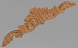 Код ДГ 37.Деревянный резной декор для мебели. Декор горизонтальный, фото 4