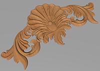 Деревянный резной декор для мебели. Декор горизонтальный